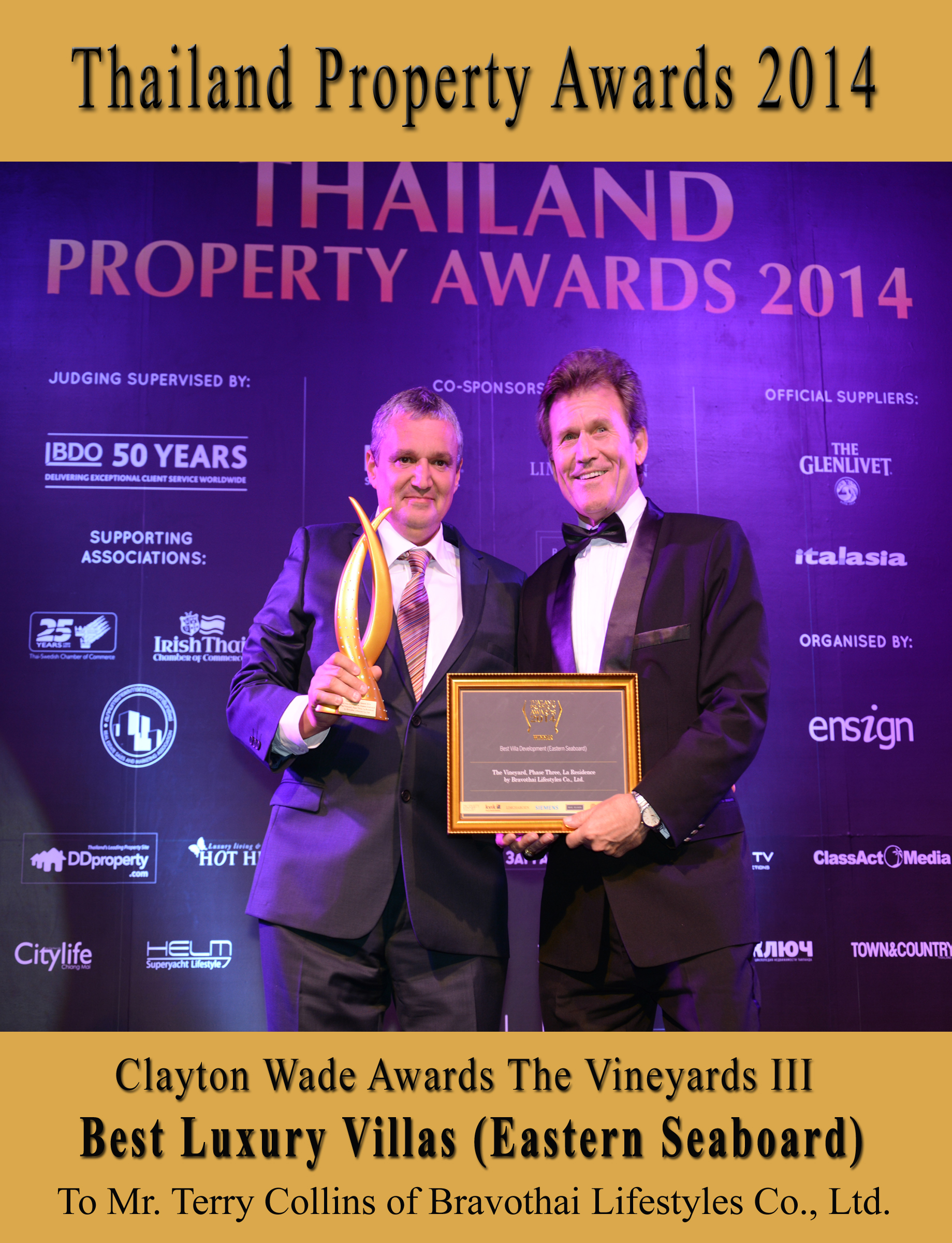 Thailand Property Awards 2014 - pic 1